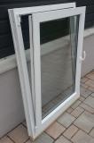 Okno biele, š 900 x v 1200 mm otváravo- sklopné (OS) s čírym sklom - funkcia sklopné.