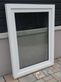 Okno biele, š 900 x v 1200 mm otváravo- sklopné (OS) s čírym sklom - príslušenstvo.